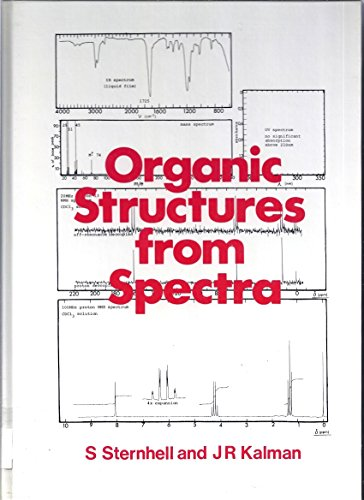 Organic Structures from Spectra   1986 9780471906445 Front Cover