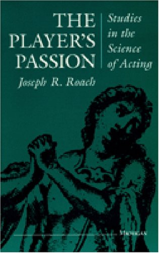 Player's Passion Studies in the Science of Acting Reprint  edition cover