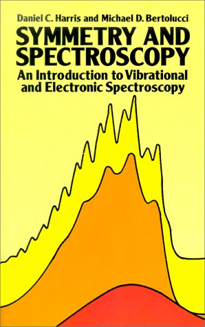 Symmetry and Spectroscopy An Introduction to Vibrational and Electronic Spectroscopy  1989 edition cover