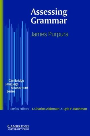 Assessing Grammar   2004 edition cover
