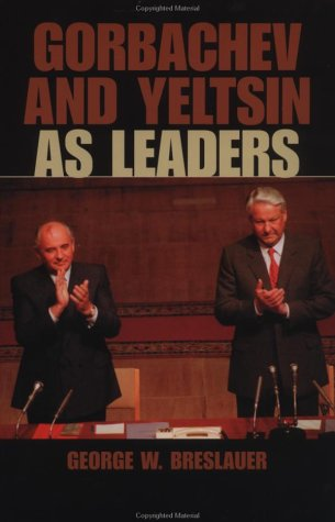 Gorbachev and Yeltsin as Leaders   2002 edition cover