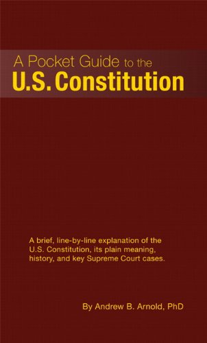 Pocket Guide to the U. S. Constitution   2011 edition cover
