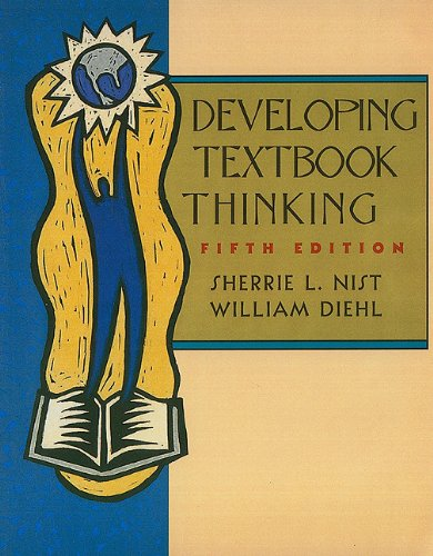 Developing Textbook Thinking Strategies for Success in College 5th 2002 9780618123445 Front Cover
