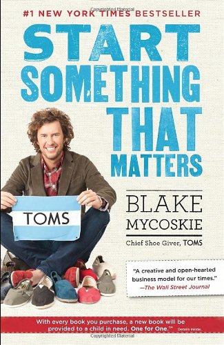 Start Something That Matters   2012 edition cover