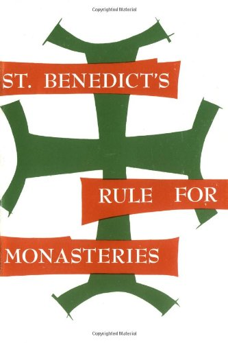 St. Benedict's Rule for Monasteries   1986 edition cover