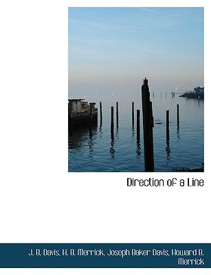 Direction of a Line N/A 9781113601445 Front Cover