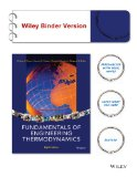 Fundamentals of Engineering Thermodynamics  8th 2014 edition cover