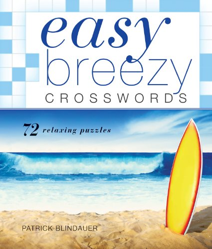 Easy Breezy Crosswords   2011 9781402781445 Front Cover