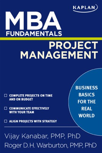 MBA Fundamentals Project Management  N/A edition cover