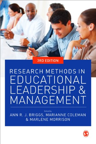 Research Methods in Educational Leadership and Management  3rd 2012 edition cover
