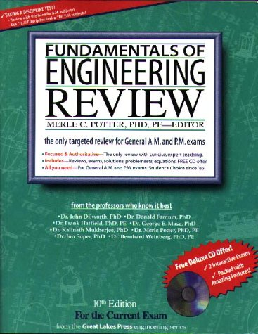 Fundamentals of Engineering Review : The Most Effective FE/EIT Review 10th 2000 edition cover