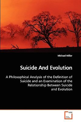 Suicide and Evolution:   2009 edition cover