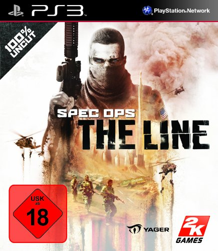 SPEC OPS: THE LINE PlayStation 3 artwork