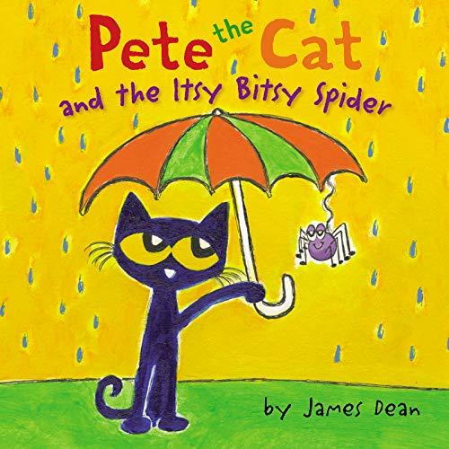 Pete the Cat and the Itsy Bitsy Spider   2019 9780062675446 Front Cover