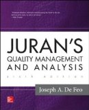 Juran's Quality Management and Analysis  6th 2015 edition cover