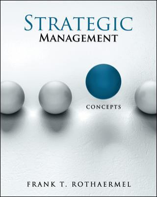 Loose-Leaf for Strategic Management: Concepts   2013 edition cover