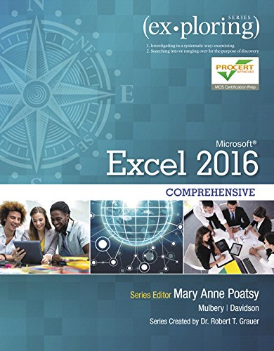 Microsoft Office Excel 2016 Comprehensive   2017 9780134479446 Front Cover