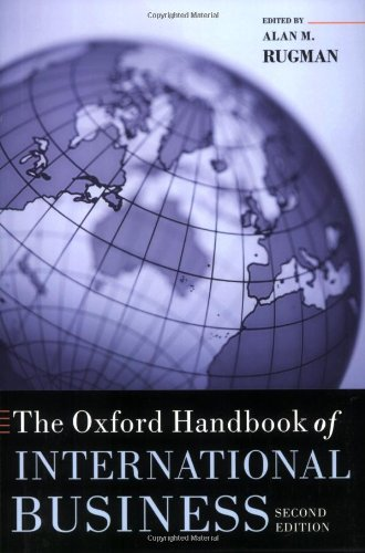 Oxford Handbook of International Business  2nd 2010 9780199593446 Front Cover