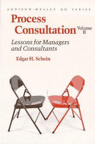 Process Consultation Lessons for Managers and Consultants  1987 9780201067446 Front Cover
