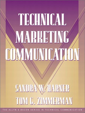 Technical Marketing Communication   2002 edition cover