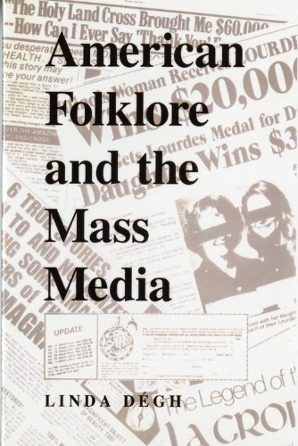 American Folklore and the Mass Media   1994 9780253208446 Front Cover
