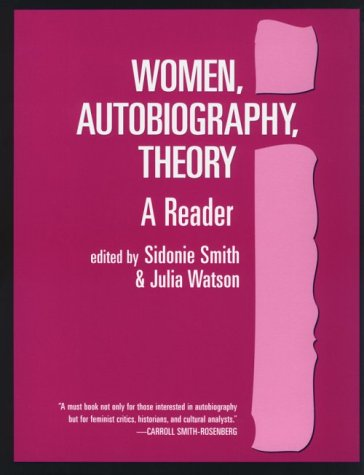 Women, Autobiography, Theory A Reader N/A edition cover