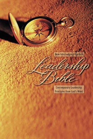 Leadership Bible  N/A 9780310912446 Front Cover