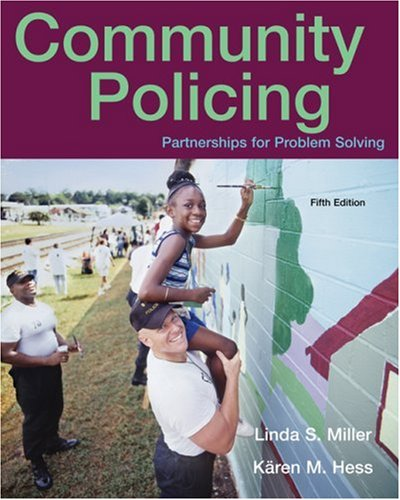Community Policing Partnerships for Problem Solving 5th 2008 (Revised) edition cover