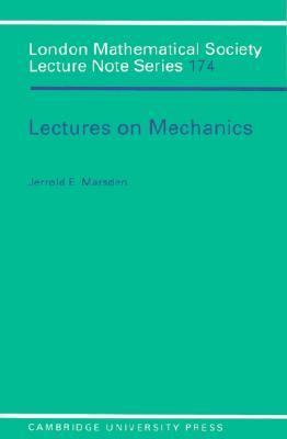 Lectures on Mechanics   1992 9780521428446 Front Cover