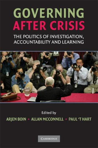 Governing after Crisis The Politics of Investigation, Accountability and Learning  2008 edition cover
