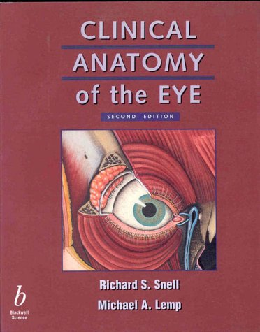 Clinical Anatomy of the Eye  2nd 1997 (Revised) edition cover