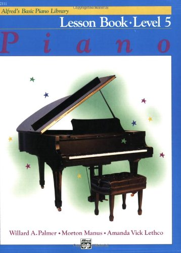 Alfred's Basic Piano Lesson Book, Level 5   1983 edition cover