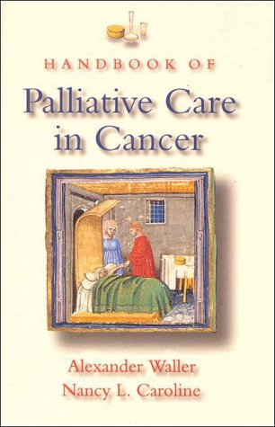 Handbook of Palliative Care in Cancer  3rd 1996 9780750697446 Front Cover