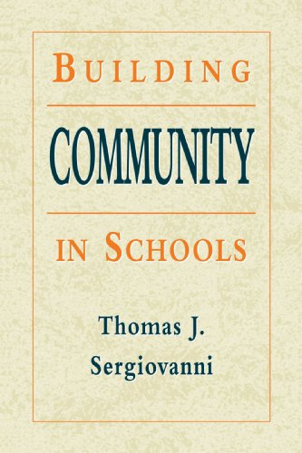 Building Community in Schools   1994 edition cover