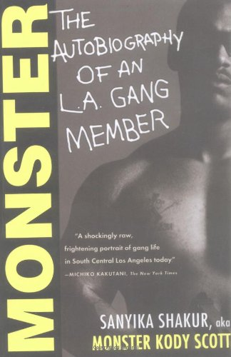 Monster The Autobiography of an L. A. Gang Member  1993 edition cover