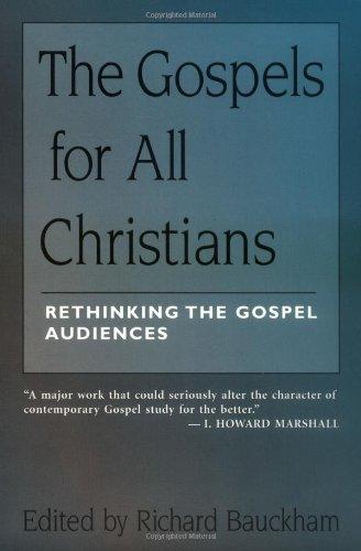 Gospels for All Christians Rethinking the Gospel Audiences  1997 edition cover