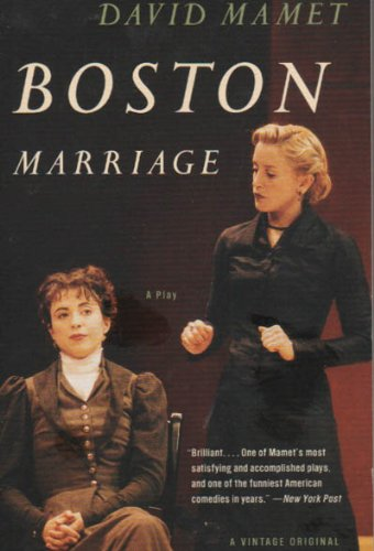 Boston Marriage  N/A edition cover