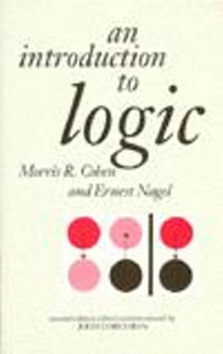 Introduction to Logic  2nd 1993 edition cover