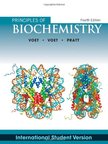 Principles of Biochemistry  4th 2012 9781118092446 Front Cover