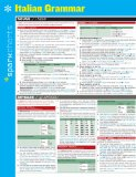 Italian Grammar Sparkcharts:   2014 9781411470446 Front Cover