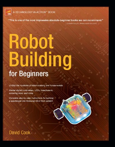 Robot Building for Beginners   2002 edition cover