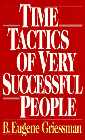 Time Tactics of Very Successful People   1994 edition cover