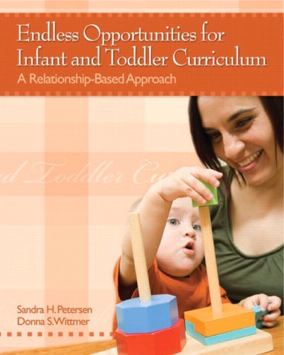 Endless Opportunities for Infant and Toddler Curriculum A Relationship-Based Approach  2009 edition cover