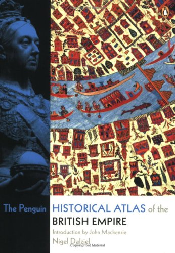 Penguin Historical Atlas of the British Empire   2006 edition cover