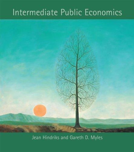 Intermediate Public Economics   2006 edition cover
