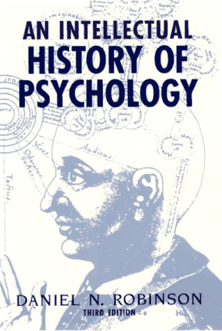 Intellectual History of Psychology  3rd 1995 9780299148447 Front Cover