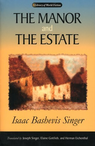 Manor and the Estate   2004 9780299205447 Front Cover
