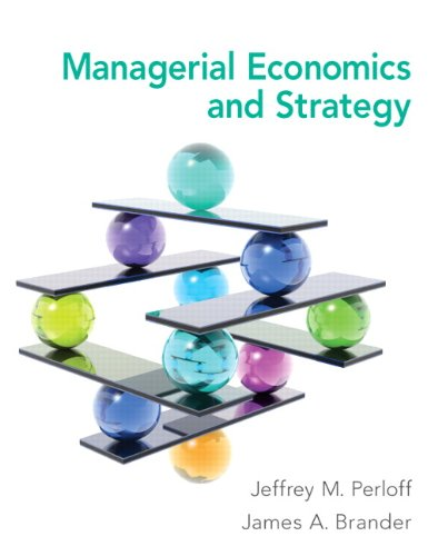 Managerial Economics and Strategy   2014 edition cover