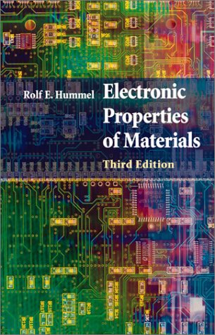 Electronic Properties of Materials An Introduction for Engineers 3rd 2005 (Revised) edition cover