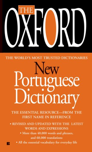 Oxford New Portuguese Dictionary  N/A edition cover